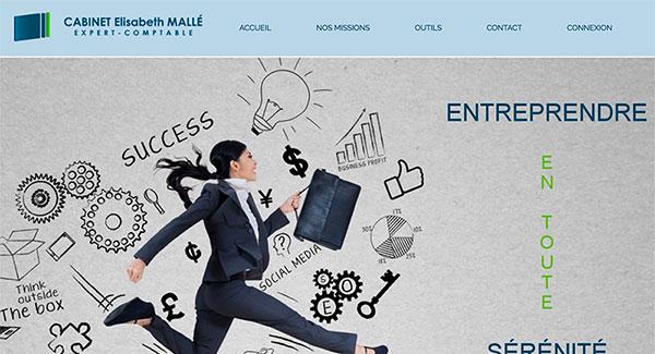 Référencement site internet Cabinet-Mallé par Ingenieweb