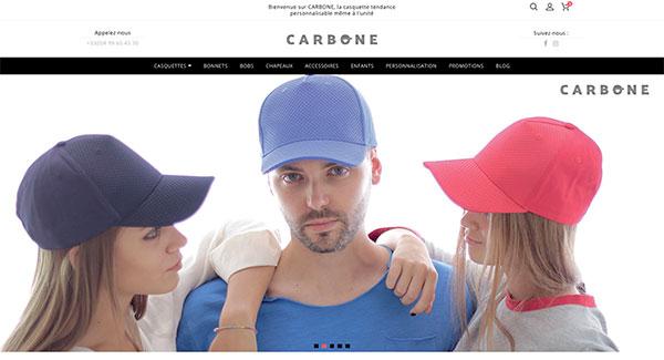 Shop-Carbone-vente en ligne Ingenieweb
