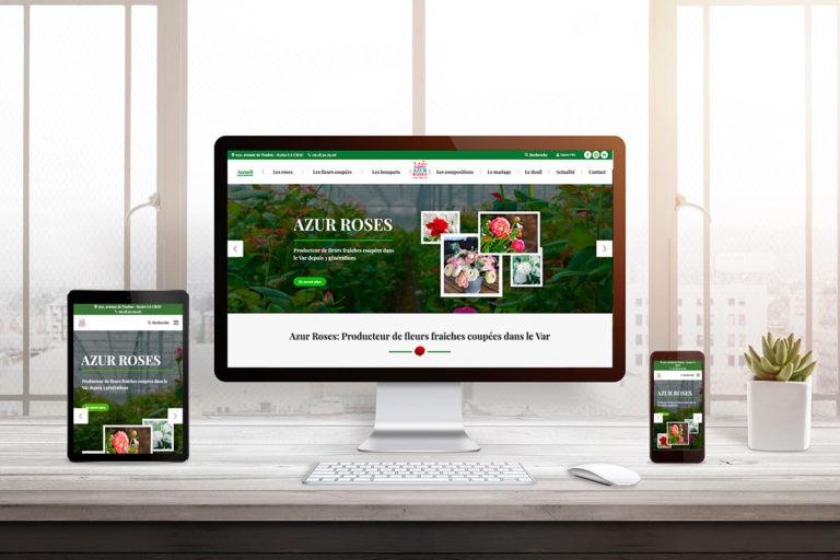 nouveau-site-internet-Azur-Roses by ingenieweb