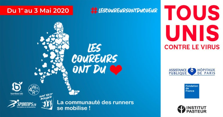LES COUREURS ONT DU COEUR-communication digitale Ingenieweb web4run